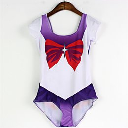Natation costume sec en Ligne-Haute élasticité Maillot One-Piece Sets Beachwear respirante 3D Print Beach à motifs Quick Dry douce Piscine Wear Sailor Moon Backless LNSst