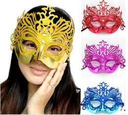 2017 new Fashion Sexy Halloween Masquerade party Mask Crown Venetian Christmas Half face Mask 30 pcs lot