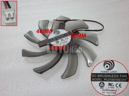 Camisa de potencia en venta-Envío libre para la LÓGICA de la POTENCIA PLD10010S12H 12V 0.30A paso 4cm 95m m 2-Pin de la tarjeta gráfica ventilan la manga