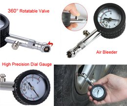 Wholesale UNIT YD Accurate Auto Tire Air Pressure Gauge Tyre Air Pressure Meter psi Dial Meter Tester Monitor CEC_760