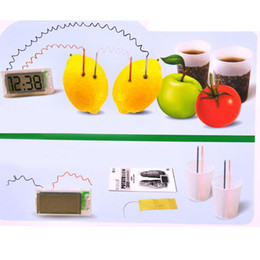 Wholesale New Material Conversion Power Supply LCD Potato Clock with No Mess Holder Creative Birthday Gift E5M1