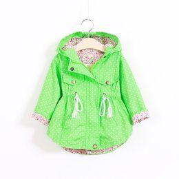 Wholesale Best Quality New Girl s Fashion jackets Girls Outerwear Coats Trench Girls Hoodies Jackets Children s Coat Spring Autumn Baby Coats