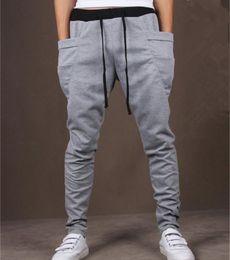 Wholesale Cool Design Jogging Men Casual Sweatpants Big Pocket Summer Gym Clothing Army Trousers Hip Hop Harem Pants Mens Joggers Colors