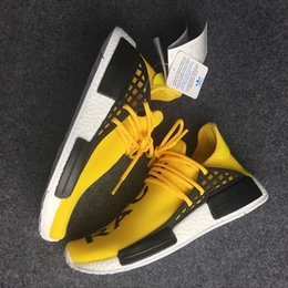 Wholesale Adidas Originals NMD quot HUMAN RACE quot Pharrell Williams X Online Men Women Classic Cheap Fashion Running Shoes With Box