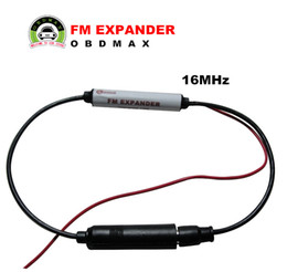 Wholesale 16MHz Car Radio FM Band Expander Frequency Change Converter shifter Japan to Worldwide