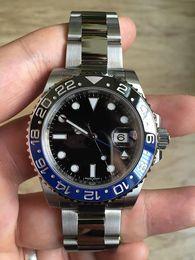 Wholesale Luxury wristwatch Mens Perpetual II Ceramic Bezel Watches Steel Bracelet Sports Master Dive Wristwatch