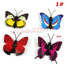 Consumer Electronics Shop - New 12PCS set 3D Magnetic Butterfly Room Wall Decoration Fridge Magnets Sticke Shipping