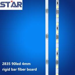Wholesale 10pcs mm Ultra Thin cm leds W W LED Rigid Strip Sidelight edge lit LED Light Bar for Slim Crystal Light Box Signs