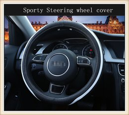 High-quality Sporty automobiles Steering wheel cover Universal suitable for 38cm car styling