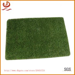Wholesale Lengthened super thick TPR turf carpet artificial simulation lawn mat Moisture proof durable and cost effective floor pad