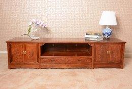Wholesale Solid Rosewood TV Cabinet for Plasma LCD TVs African rosewood TV chest solid rosewood furniture