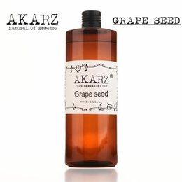 Wholesale AKZRZ Famous Brand Pure Grape Seed Oil Natural Aromatherapy High Capacity Skin Body Care Massage Spa Grape Seed Essential Oil Y004