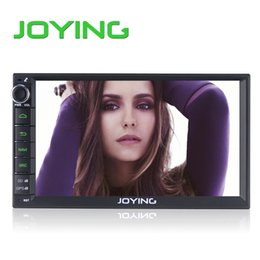 Wholesale car DVD Joying Lastest Double Din Android Universal Car Radio Quad Core HD Car GPS Navigation Best Head Unit