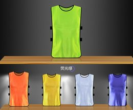 Wholesale High quality adult children s basketball football training service team against packet service vest clothing advertising vest