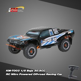 Wholesale KM T003 Baja CC RC Nitro Powered Off road Racing Car with MT D Channel G Transmitter RM5489