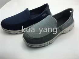 Wholesale 2016 New Arrived Performance Man casual Air Mesh Spring Fall breathable low top walking Slip on lightweight comfortable