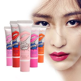 Wholesale Mixed Romantic Magic Beauty Women Nutritious Lip Gloss matte waterproof Color Peel Mask Tint Pack Long Lasting Makeup Lip Gloss