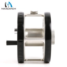 Wholesale Maximumcatch Classic Fly Fishing Reel Clicker Disc Drag System CNC Machine Cut T6061 Aluminum Fly Reel