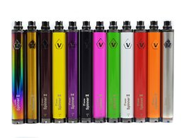 Torsion ii en Ligne-Top qualité Vision Spinner 2 II 1650mAh Ego torsion 3.3-4.8V eGo Twist batterie de tension variable pour atomiseur de cigarette électronique DHL