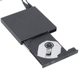 New USB 2.0 External DVD Combo CD-RW Burner Drive CD+-RW DVD ROM Black Wholesale