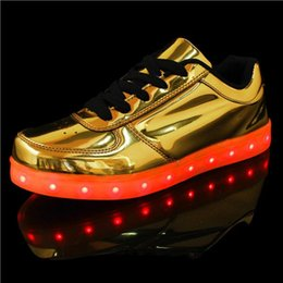 2016 Casual Luminous Shoes Led Women Fashion Schoenen Met Licht Men Shoes For Adults Hombre Light Up Femme Chaussure Lumineuse Free shipping