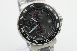 Wholesale Top quality luxury watch sapphire New Arrivals Men s quartz high quality stainless steel watch Formula One F1 black sea surface