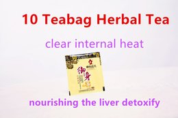 10 Teabag individual Package Natural chinese organic herbal Teabags clear internal heat nourishing the liver detoxify Tea