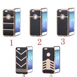 Business Casual Cell Phone Cases Flak Jacket Series TPU Phone Covers for iphone 6s 6plus 5s 100