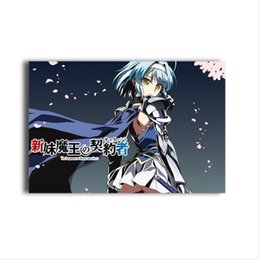 Wholesale hentai anime The Testament of Sister New Devil Characters Mio Naruse Maria Naruse canvas painting Shinmai Mao no Tesutamento poster