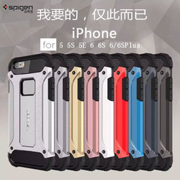 5G  6G New SPG TOUGH ARMOR TECH Case For iPhone 5 5S 5G 6 6S Plus Phone Back Cover Cases
