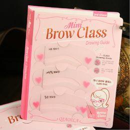 Makeup Genuine Etude House Thrush Card Novice Simple Three Kinds Of Eyebrow Eyebrow Stencils Eyebrow Tools Eyebrow Card