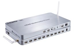 Wholesale 4K HDMI Ways Multimedia Player V1 p full hd HDD multimedia player for TV stores