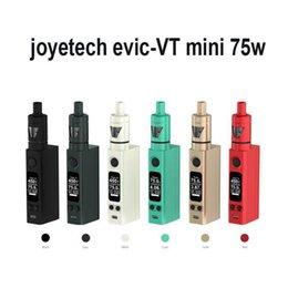Evic vtc en Ligne-kit Joyetech EVIC VTC Mini 75W EVIC VTC mini-75W VS Joyetech Evic Mini avec la livraison gratuite Cubis Kit Kanger Topbox mini-DHL