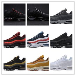 Wholesale New Men s Stussied International Air th Anniversary Plus Christmas Classic Black White Running Shoes OG Sports Shoes Footwear