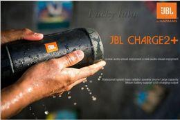 Wholesale NEW CHarge2 Wireless Bluetooth mini speaker Outdoor portable mini speaker HIFI waterproof bluetooth speaker for JBL