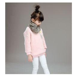 Wholesale Children S Animal Sweater Coats - Korean version of children clothing sweater coat 2016 autumn winter in the big children fashion children cashmere jackets