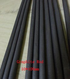 Wholesale 10 mm High Purity Carbon Graphite Rod For Electrodes Smelting Experiment