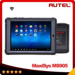 Wholesale 2016 Top selling Original Autel MaxiSys Mini MS905 Diagnostic Analysis System with quot Screen LED Touch Display In stock