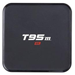 Wholesale Sunvell T95M Smart TV Box Amlogic S905 Quad Core Bit Android K HD Set Top Box GB GB GHz WiFi Bluetooth