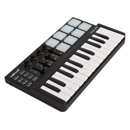Wholesale High Quality Panda mini Portable Mini Keyboard and Drum Pad Key USB MIDI Controller with Durable USB Cable