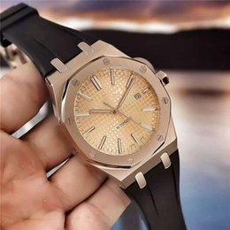 Wholesale manufacturers of luxury Royal Oak Offshore watch automatic mechanical watches AAA luminous tape automatic simple calendar