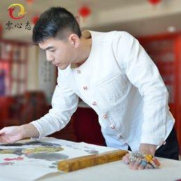 Mayor,En la nueva mentalidad de China viento nulo para hombre camisas de lino vestido de la camisa suelta de algodón supplier mens linen shirt xxl