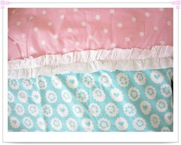 Wholesale Princess Castle bedding set children cartoon patchwork applique embroidery bedclothes full queen king size