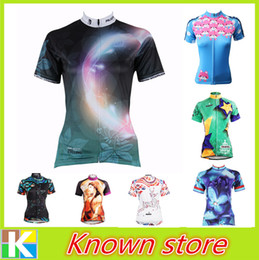 Wholesale 2016 new paladin cheap women s cycling jersey China white bike clothing ropa ciclismo girl s cycle apparel riding gear
