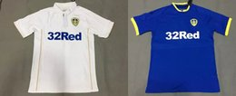 Wholesale DHL shipping mixed buy Top Thai quality Leeds united soccer Jerseys home away blue white leeds united football shirts soccer jerseys