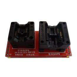 Wholesale SOP8 DIP8 Chip Socket Adapter for CXX CXX SMD ICs Best Quality ECU Programmer Adapter Socket Converter Module for Autos