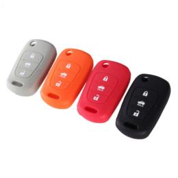 Silicone 3 Button Flip Remote Key Fob Case Cover For for Kia K2 K5 Pro Ceed HYUNDAI i20 i30 i40 SANTA Car