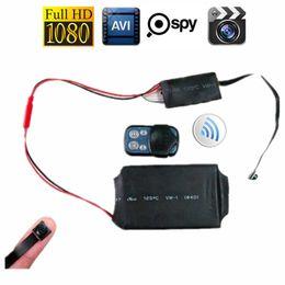 32GB HD 1080P DIY Module SPY Hidden MINI DV DVR Camera Camcorder Video & Audio Recorder Motion with Remote Control & 3800mAh Battery