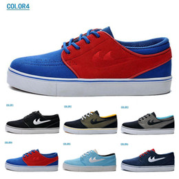 Wholesale Fashion SB ZOOM Dunk Stefan Janoski Skateboard shoes factory outlet MEN S suede material waterproof Sports Shoes Size US7