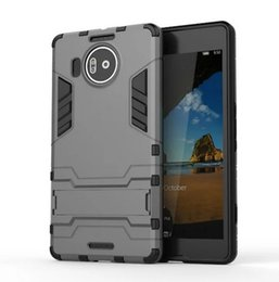 For Nokia 950XL Case Rugged Combo Hybrid Armor Bracket Impact Holster Protective Cover Case For Nokia Microsoft Lumia 950XL 950 xl